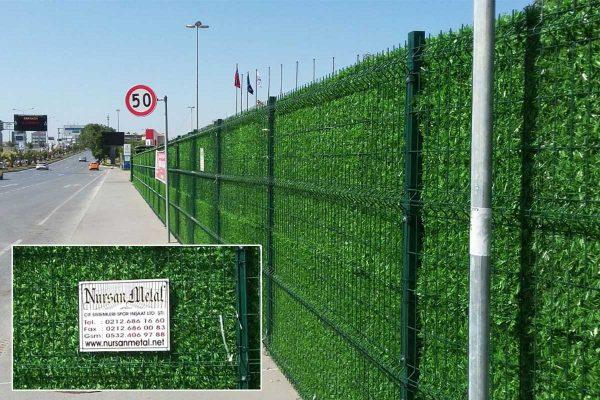 çim çit dekoratif panel